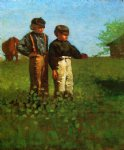 young farmers by winslow homer painting